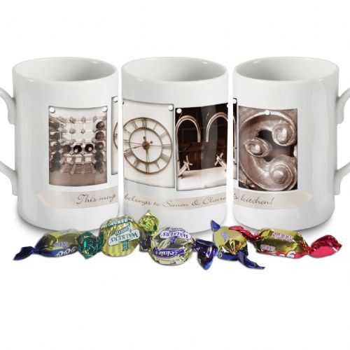 Personalised Affection Art Home Mug